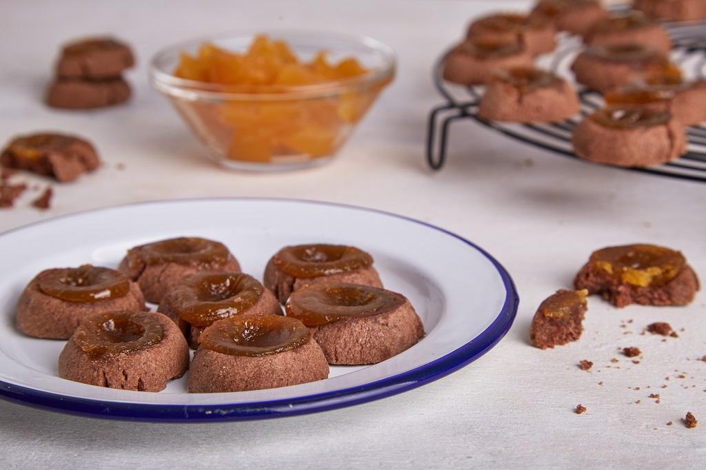 pepas de chocolate con batata